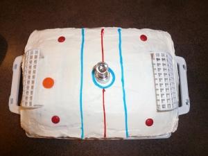 Hockey Rink CakeHockey Rink Cake
